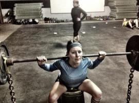 Box Squats!  Love them.