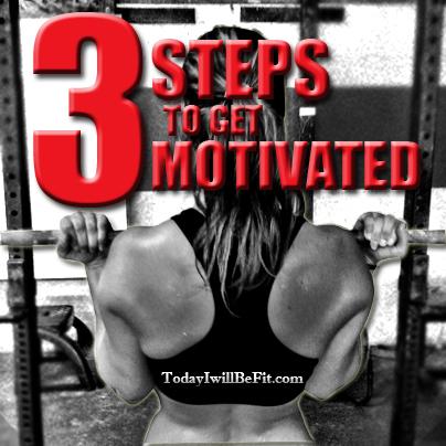 3 steps motivation