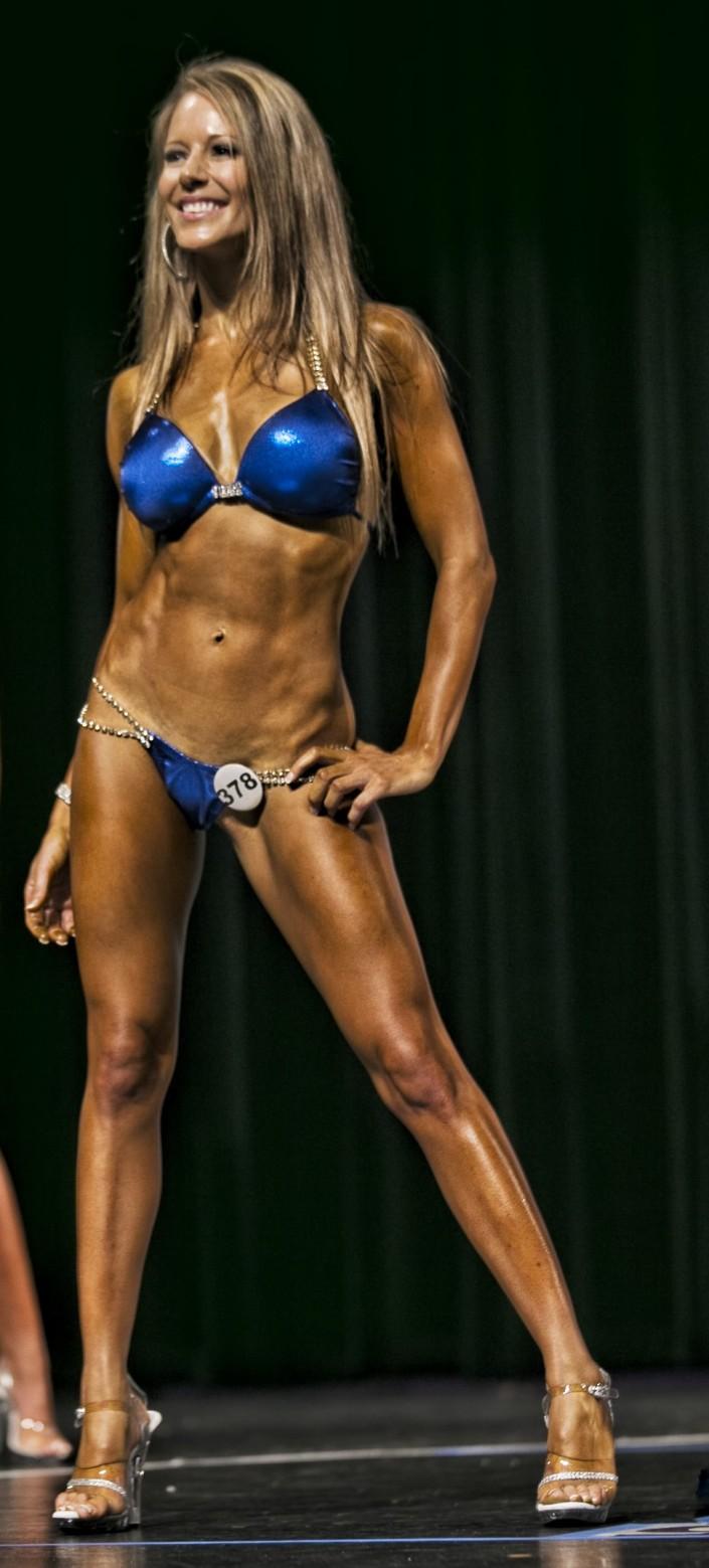 bikini competitor