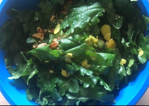 marinated kale salad